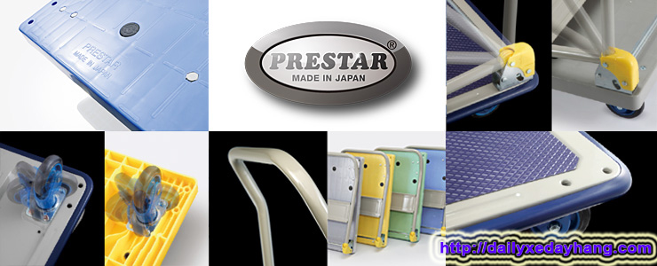 Xe đẩy hàng Prestar Nhật Bản
