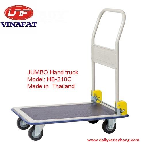 Xe đẩy hàng Jumbo HB-210C gấp gọn Thái Lan