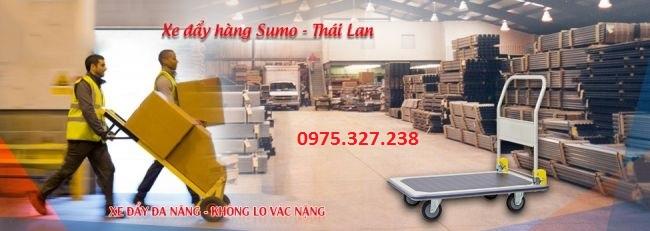 Xe đẩy hàng Sumo Thái Lan